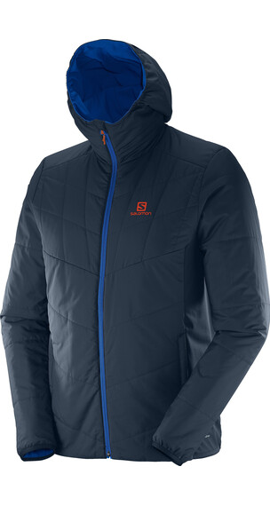 Salomon Drifter Mid Hoodie Men big blue-x